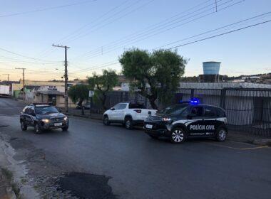 Polícia prende suspeito de agredir a companheira em Campos Altos - Foto: Divulgação/PCMG