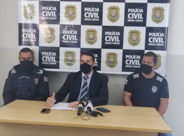 Delegado Thiago de Lima Machado - Foto: Divulgação/PCMG