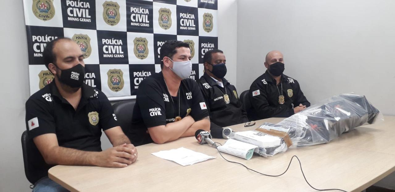 Casal que usava filhos para despistar tráfico de drogas é preso com drogas em BH - Foto: Divulgação/PCMG