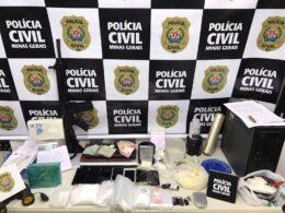 Casal é preso por trafico de drogas em Pouso Alegre - Foto: Divulgação/PCMG