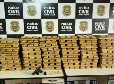 Polícia apreende quase 300 kg de maconha em Juiz de Fora - Foto: Divulgação/PCMG