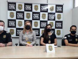 Entrevista coletiva sobre o caso - Foto: Divulgação/PCMG