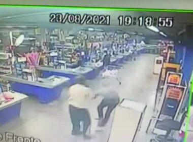 Fiscal é morto a facadas ao tentativa de furto a supermercado de BH - Foto: Reprodução