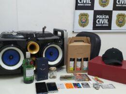 Homem é preso suspeito de se passar por policial para aplicar golpes é preso em Lagoa Santa - Foto: Divulgação/PCMG