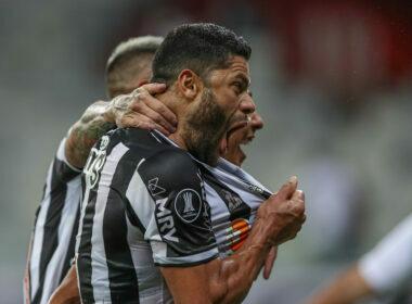 Os gols de Atlético-MG 3 x 0 River Plate, pelas quartas de final da Libertadores - Foto: Pedro Souza/Atlético
