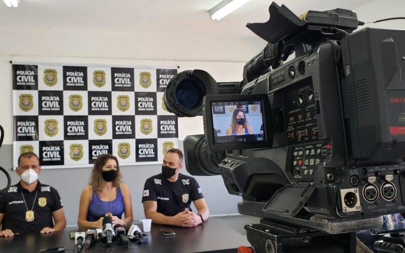 Polícia prende suspeito de matar e esconder corpo da amante em Santa Luzia, na Grande BH - Foto: Divulgação/PCMG