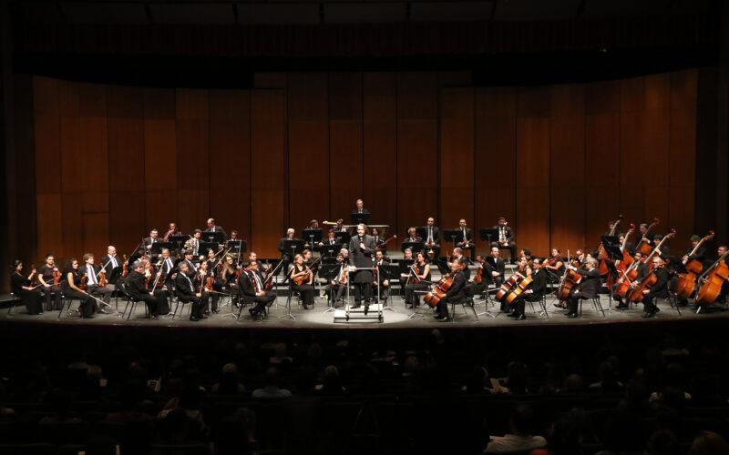 Sinfônica e Lírico em Concerto com solo do clarinetista Walter Junior e regência de Sérgio e Gomes - Foto: Divulgação / FCS