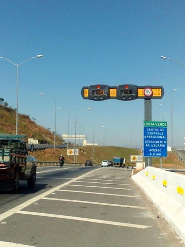 598 novos radares em rodovias de Minas Gerais
