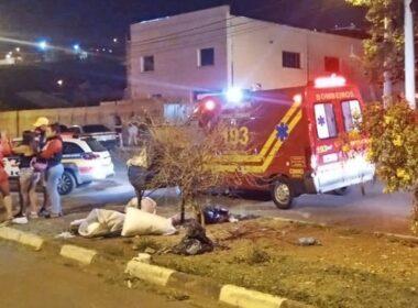 Dois homens morrem após moto bater, em Guaxupé - Foto: Divulgação/Corpo de Bombeiros