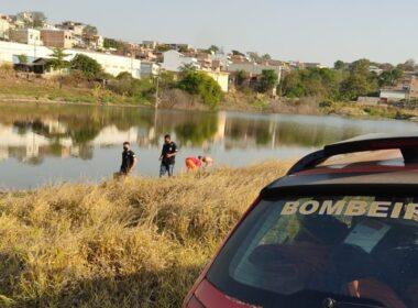 Adolescente morre afogado em lagoa em Ribeirão das Neves, na Grande BH - Foto: Divulgação/Corpo de Bombeiros
