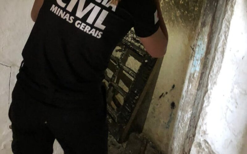 Polícia prende suspeito de atear fogo em cachorro em Poços de Caldas - Foto: Divulgação/PCMG