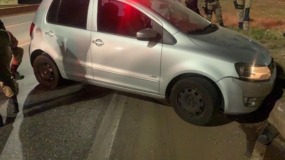 Suspeito de roubar moto em Sabará é preso após perseguição no Anel Rodoviário - Foto: Polícia Militar/ Divulgação