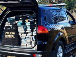 Dupla é presa com 360 kg de cocaína em caminhão na BR-135, em Montes Claros - Foto: Divulgação/PF