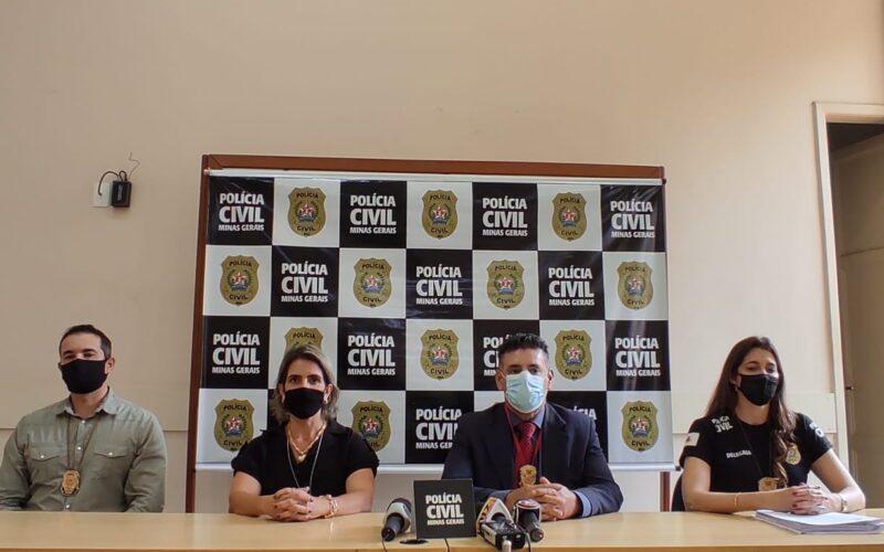 Polícia desmantela organização suspeita de aplicar golpe do falso emprego em BH - Foto: Divulgação/PCMG