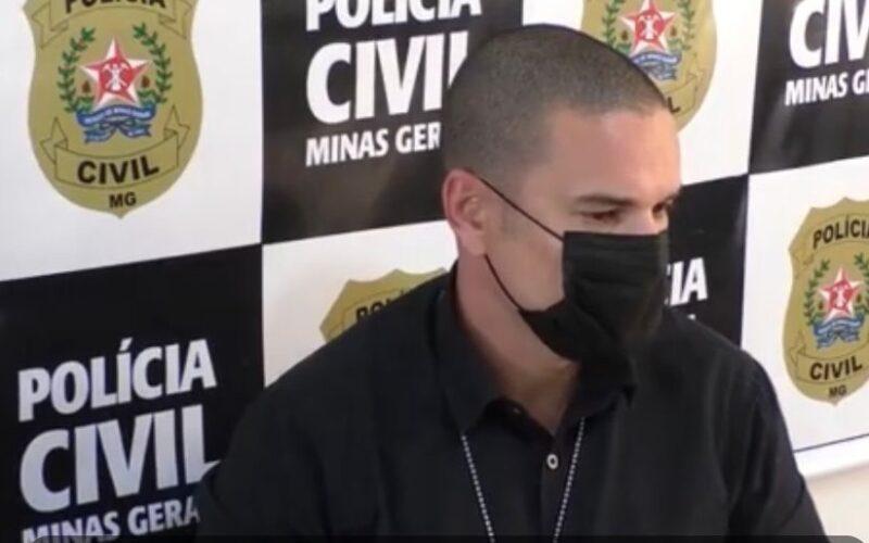Homens são indiciados por homicídio no distrito de Sapucaia, em Caratinga - Foto: Divulgação/PCMG