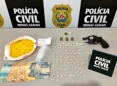Polícia Civil prende suspeito de cometer homicídio em Ubá - Foto: Divulgação/PCMG