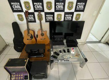 Suspeito é preso em flagrante por receptação em Ribeirão das Neves - Foto: Divulgação/PCMG