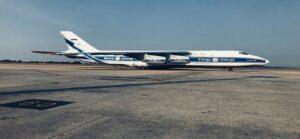 Segundo maior avião do mundo pousa em Confins - Foto: Anglo American/Divulgação