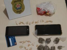 Duas mulheres são presas por tráfico de drogas em Resplendor - Foto: Divulgação/PCMG