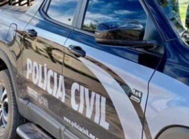 Suspeito de tentar matar o pai é preso em Jacinto - Foto: Divulgação/PCMG
