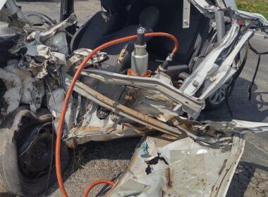 Duas pessoas morrem após acidente na BR-116, em Leopoldina - Foto: Divulgação/CBMMG