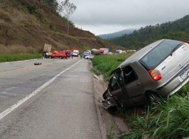 Duas pessoas morrem em acidente na BR-381, em João Monlevade - Foto: Redes Sociais