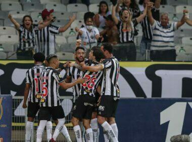 Atlético-MG vence Santos de virada e mantém vantagem no Brasileiro - Foto; Pedro Souza/Atlético