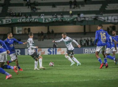 Cruzeiro derrota líder Coritiba pela Série B do Brasileirão - Foto: Divulgação/Coritiba FC