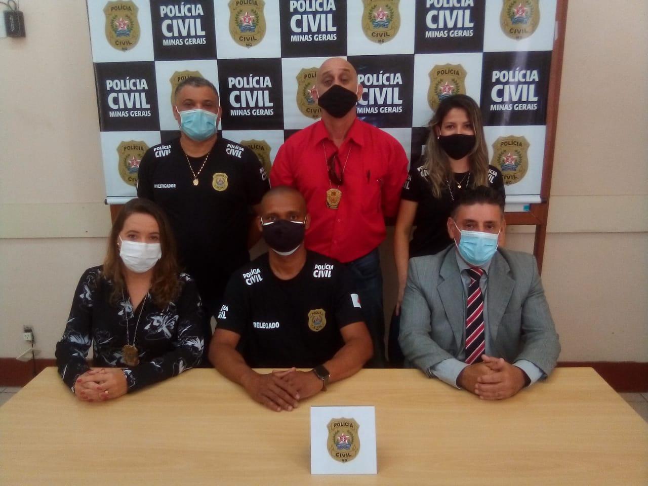 Polícia estoura central usada para golpe do motoboy em Belo Horizonte - Foto: Divulgação/PCMG