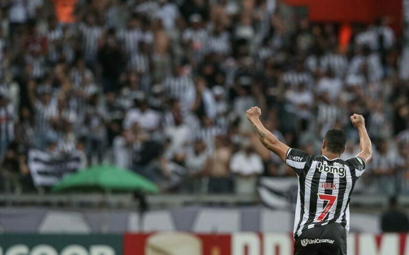Com Hulk artilheiro, Galo vence Ceará e abre mais na ponta da Série A - Foto: Pedro Souza/Atlético