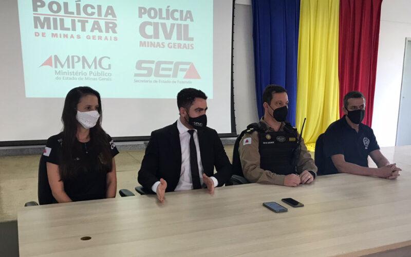 Oito pessoas são presas em ação conjunta em Nova Serrana - Foto: Divulgação/PCMG