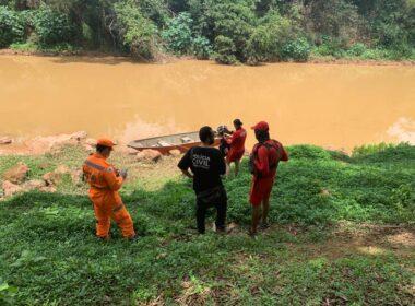 Bombeiros localiza corpo de homem que se afogou no Rio Paranaíba, em Patos de Minas - Foto: Divulgação/CBMMG