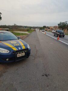 Motoristas enfrentam congestionamento na saída do feriadão em Belo Horizonte - Foto: Divulgação/PRF